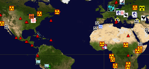 Disaster Events Map – Bionic Teaching on