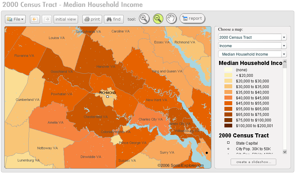 Visualize Census Data with Social Explorer