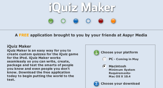 iQuiz and iQuiz Maker (Updated)