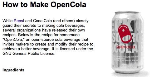 Open Cola