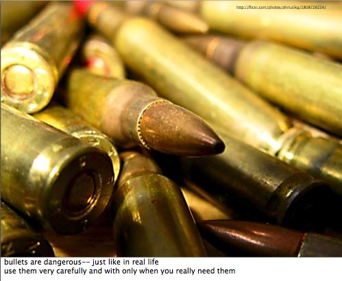 Bullets Words of Wisdom