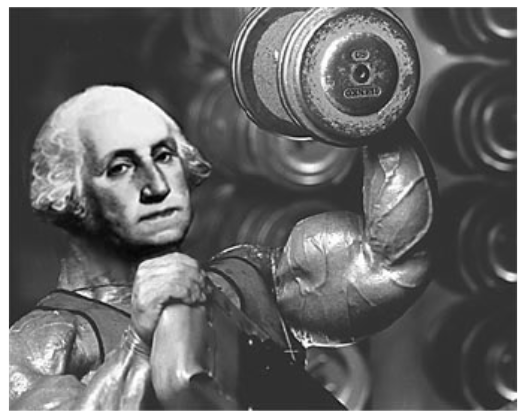 George Washington on Steroids