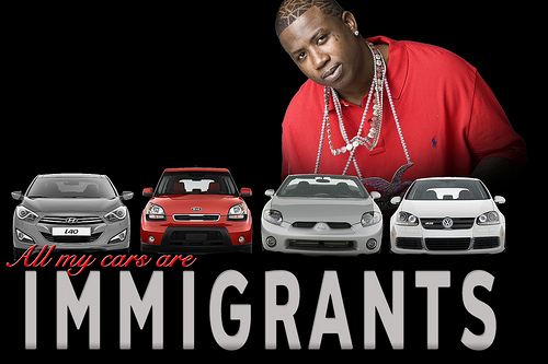 All My Cars are Immigrants