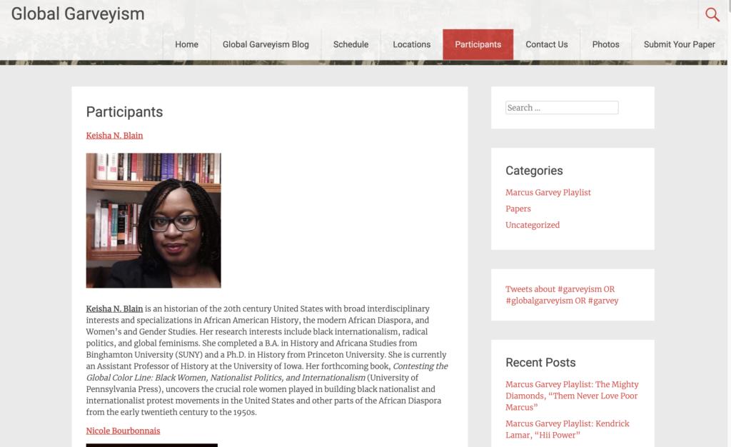 Global Garveyism Screenshot.